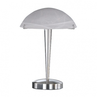 метална настолна лампа, nickel mat, trio, henk, 1x40w, 5925011-07