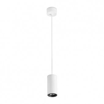 метален пендел, white, faro, pluma, 1x50w, 64191