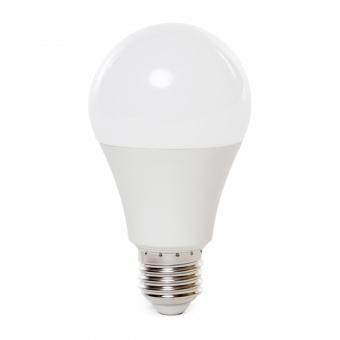 led лампа 9w, e27, бяла светлина, a60 bulb, 4000k, 806lm, 7261