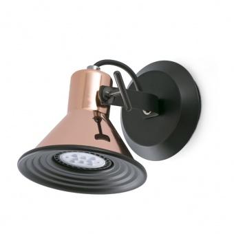 метален спот, copper, faro, cup, 1x8w, 40580