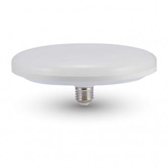 led лампа 24w, e27, бяла светлина, ufo ceiling, 4000k, 2610lm, 7162