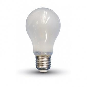led лампа 6w, e27, топла светлина, a60 filament frost, 2700k, 660lm, 44801