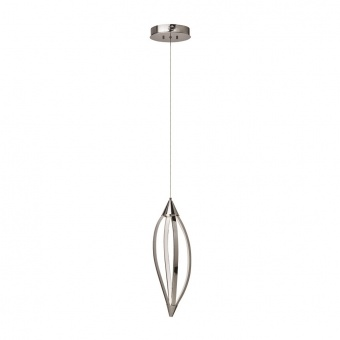 метален пендел, chrome, luxera, sakura, led 1x13.2w, 3000k, 61307