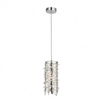 кристален пендел, mirror stainless steel, luxera, vitra, 1x40w, 64365