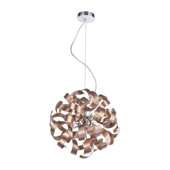 метален полилей, satin copper, luxera, ribbon, 5x33w, 64358