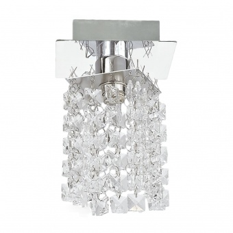 кристален спот, chrome/clear, prezent, zand, 1x33w, 34045