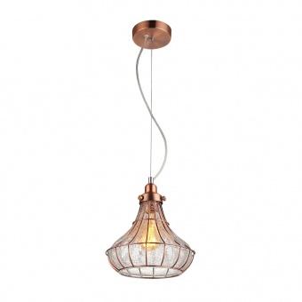 стъклен пендел, copper, prezent, perugia, 1x60, 46086