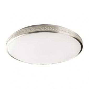pvc плафон, aluminium/white, prezent, taff, led 1x36w, 4000k, 3960lm, 71315