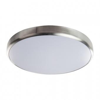 pvc плафон, alminium/white, prezent, elumo, led 1x36w, 4000k, 3960lm, 71317