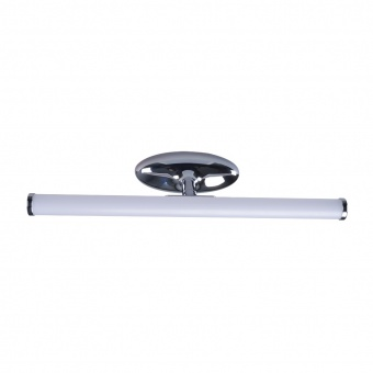 pvc аплик, chrome, prezent, jizo, led 1x6w, 4000k, 540lm, 70205