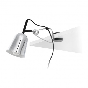метална настолна лампа, chrome, faro, studio, 1x15w, 51134