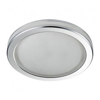 pvc луна, chrome/frosted, prezent, elegant acriylic fix, led 1x5w, 4000k, 71097