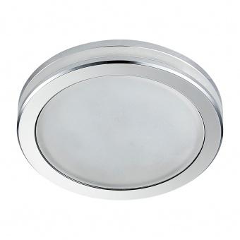 pvc луна, chrome/frosted, prezent, elegant acriylic fix, led 1x11w, 4000k, 1300lm, 71099