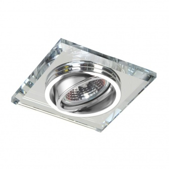 стъклена луна, chrome/clear, prezent, elegant glass fix, 1x50w, 71063