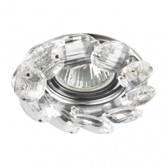 кристална луна, chrome/clear, prezent, crystal fix, 1x50w, 71073