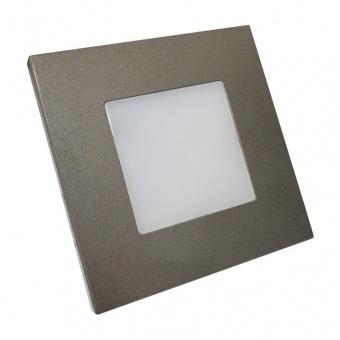 pvc мебелна луна, anthracite, prezent, step light, led 1x1w, 4000k, 60lm, 48305