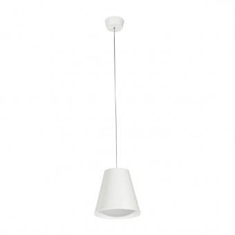 метален пендел, white, linealight, conus_p1, led 1x7w, 3000k, 907lm, 7254