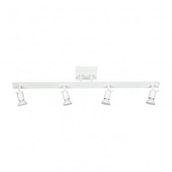 метален спот, white, linealight, spotty_s, 4x42w, 7344