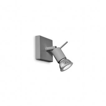 метален спот, grey, linealight, spotty_w, 1x42w, 7345