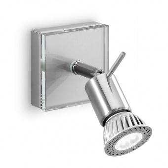 метален спот, chrome, linealight, spotty_w, 1x42w, 1150