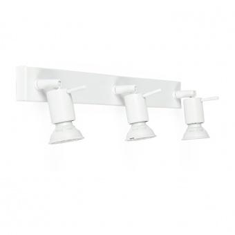 метален спот, white, linealight, spotty_w, 3x42w, 7342