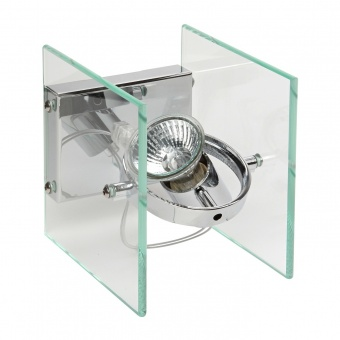стъклен спот, chrome, linealight, orbis_w, 1x30w, 4600