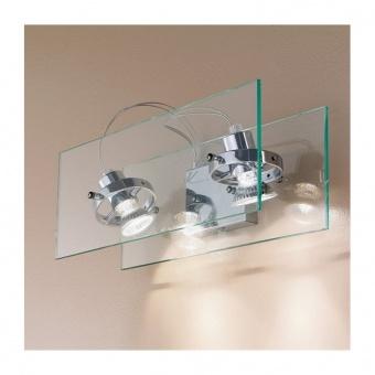 стъклен спот, chrome, linealight, orbis_w, 2x30w, 4602