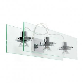 стъклен спот, chrome, linealight, orbis_w, 3x30w, 4603