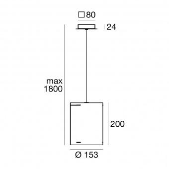 метален пендел, brown/mesh, linealight, thank you_p, 1x57w, 8060