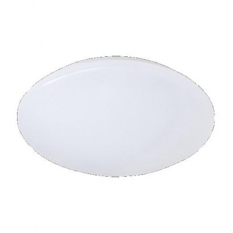 pvc плафон, white, rl, putz, led 12w, 1100lm, 3000k, r62601201