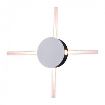метален  аплик, кръг, white, 4w, 4000k, 440lm, 8214