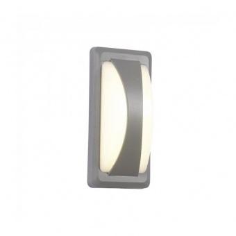 метален  аплик, grey, 12w, 3000k, 500lm, 8245
