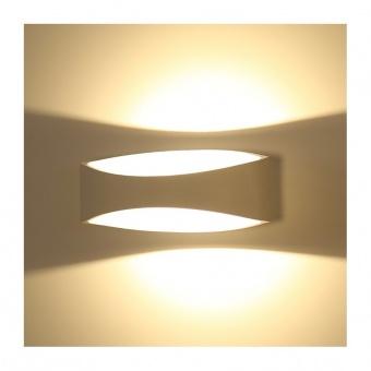 метален  аплик, white, 5w, 3000k, 550lm, 8208