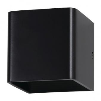 метален  аплик, black, 5w, 3000k, 560lm, 7084