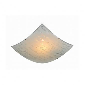 стъклен плафон, white, trio, signa, 2x40w, 602500201