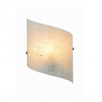 стъклен аплик, white, trio, signa, 1x40w, 202500101