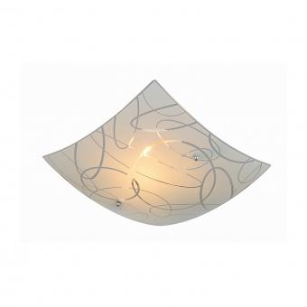 стъклен плафон, white, trio, spirelli, 1x40w, 604400101