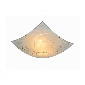 стъклен плафон, white, trio, spirelli, 2x40w, 604400201