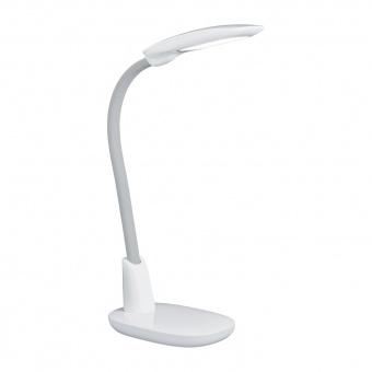 pvc работна лампа, grey, trio, grande, led 1x9w, 3000k-4000k-5000k, 1300lm, 525690101