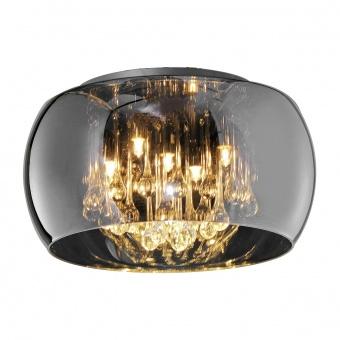 стъклен плафон, chrome, trio, vapore, 5x42w, 2800k, 5x720lm, 611210506
