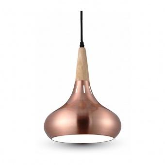 метален пендел, red bronze, 1x40w, 3816