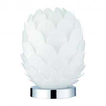 pvc настолна лампа, white, rl, choke, 1x9w, r50581001