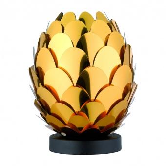 pvc настолна лампа, gold, rl, choke, 1x9w, r50581079
