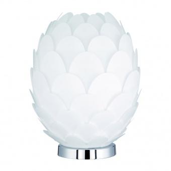 pvc настолна лампа, white, rl, choke, 1x40w, r50581901