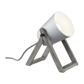 дървена работна лампа, grey, rl, marc, 1x25w, r50721011