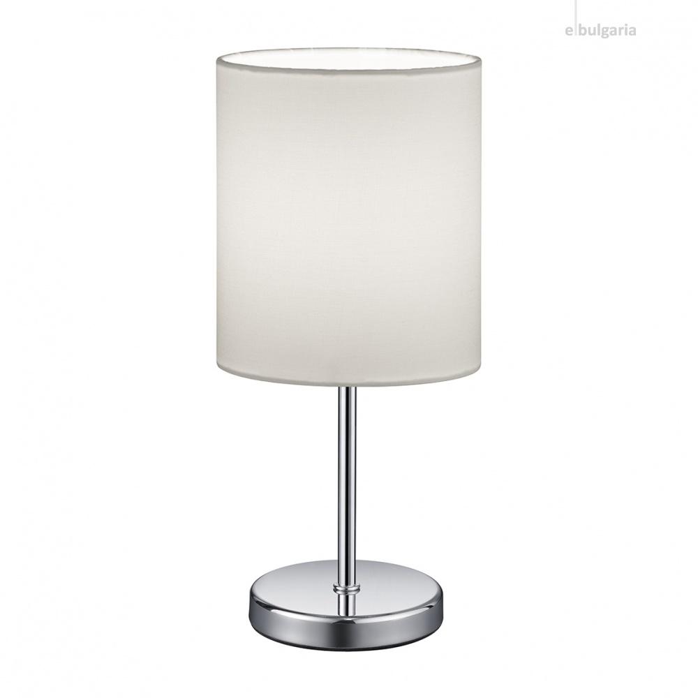 текстилна настолна лампа, white, rl, jerry, 1x40w, r50491001