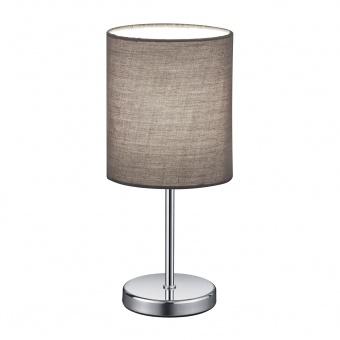 текстилна настолна лампа, grey, rl, jerry, 1x40w, r50491011