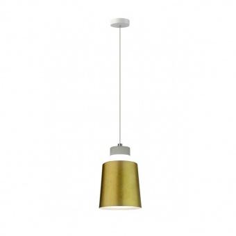 led пендел, gold lampsshade, 7w, 3000k, 400lm, 3934