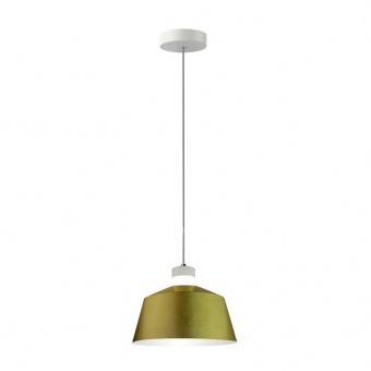led пендел, gold lampsshade, 7w, 3000k, 400lm, 3936
