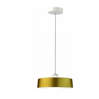 led пендел, gold lampsshade, 7w, 3000k, 400lm, 3938